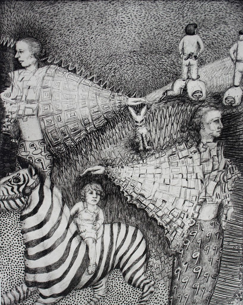 Paula Bullwinkel, Angels with Zebra