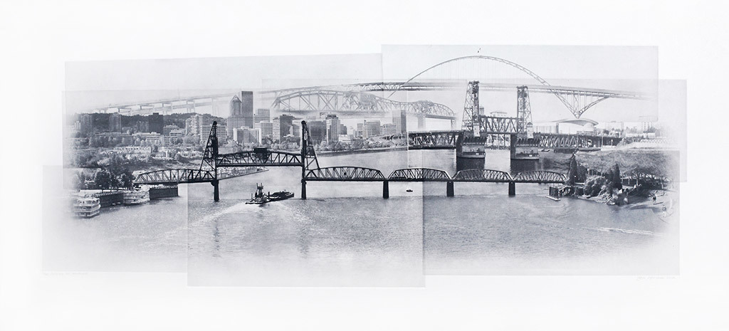 Beth Kerschen, Crossing the Willamette #5