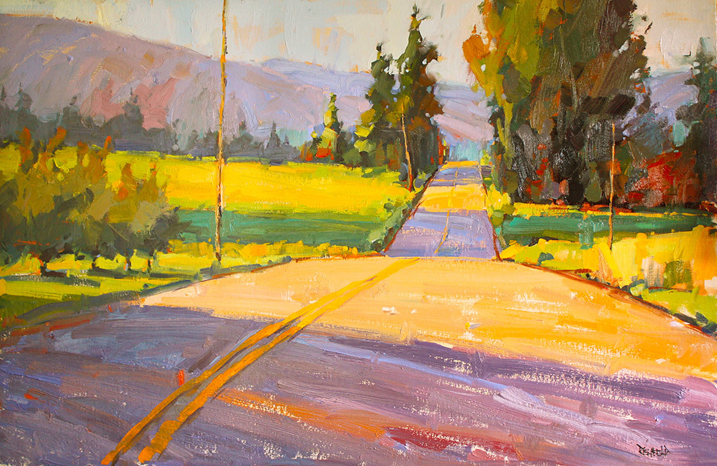 Cathleen Rehfeld, Meandering Road