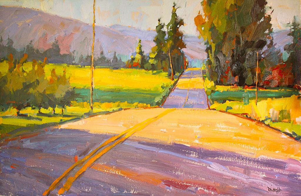 Cathleen Rehfeld, Meandering Road