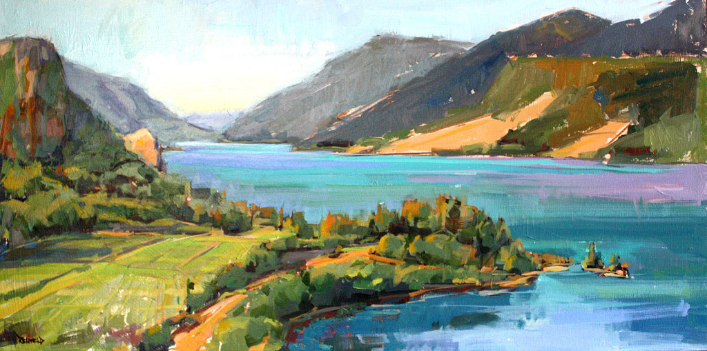 Cathleen Rehfeld, Mitchell Point, oil