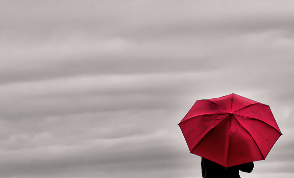 Don Schwartz, Little Red Umbrella in a Big Universe