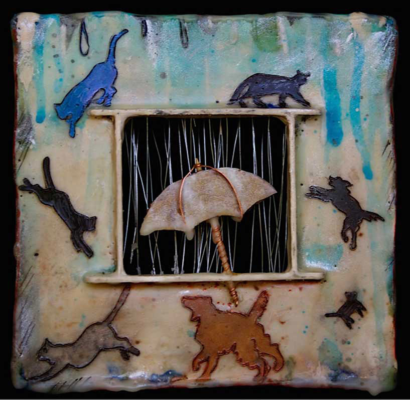 Donna Mattson Raining Cats and Dogs