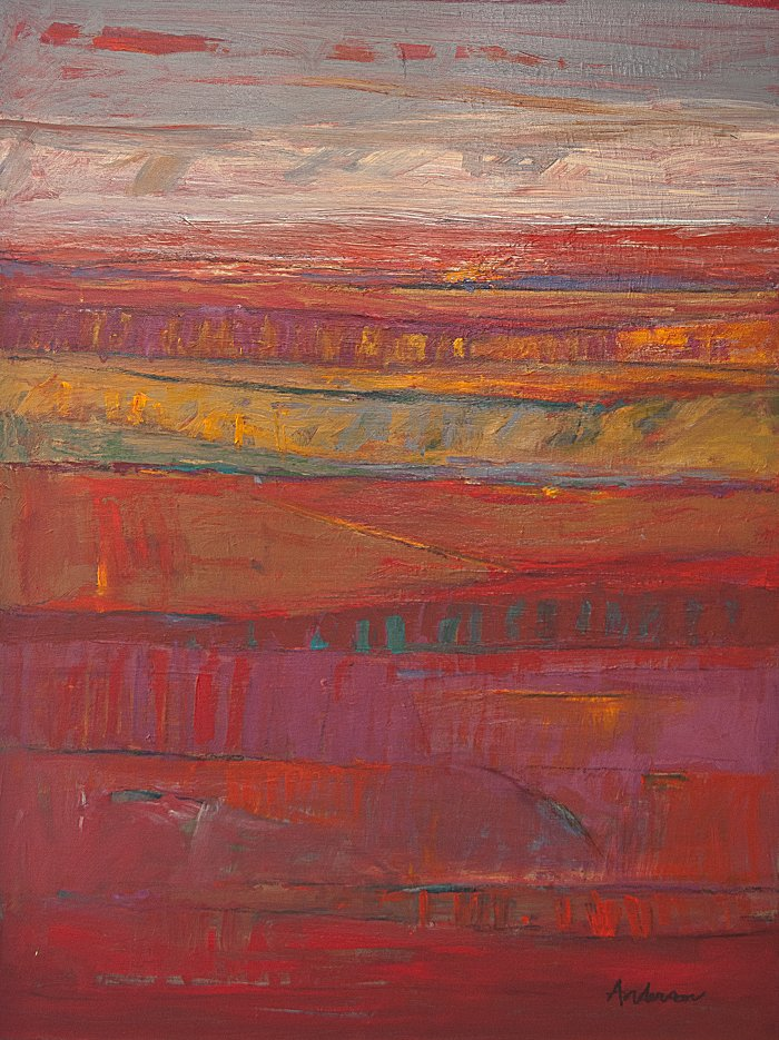 Gary Anderson, Patchwork Landscape
