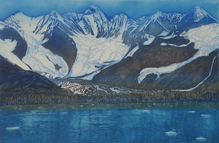 Gregory Pfarr, Three Glaciers, Prince William Sound, Alaska