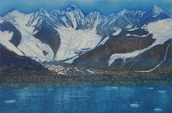 Gregory Pfarr, Three Glaciers, Prince William Sound, Alaska