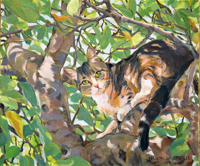 Hanne Greaver, Cat in Tree