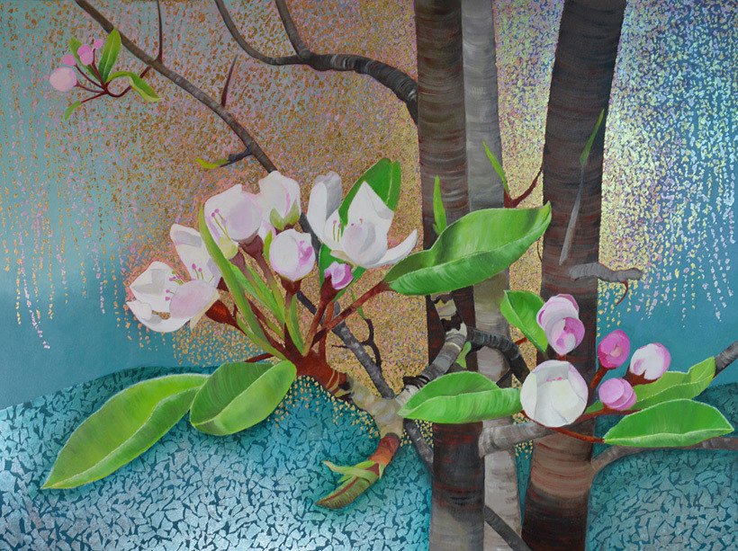 Joan Metcalf, Blooming Pear Tree