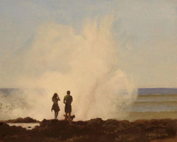 Kevin Farrell, Cape Perpetua, oil