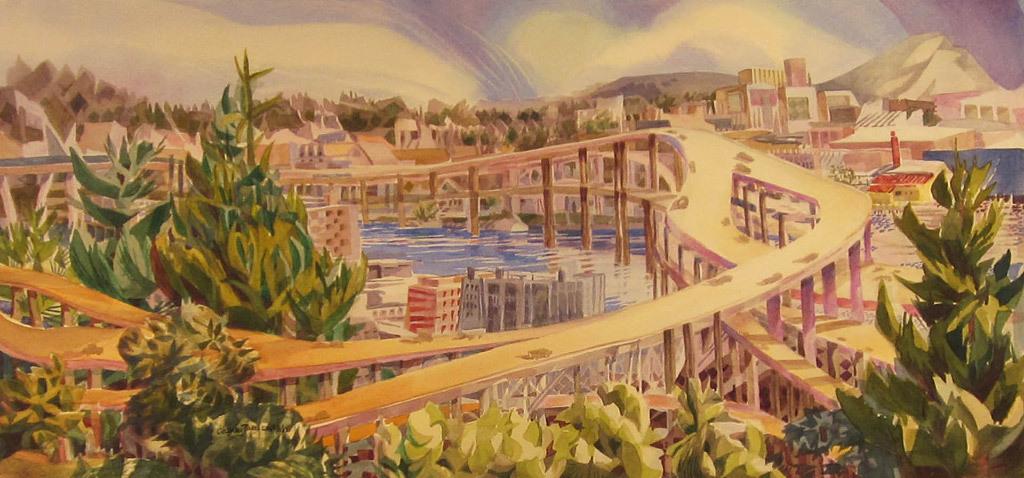 Leslie Cheney-Parr, VA View (405 Spaghetti)