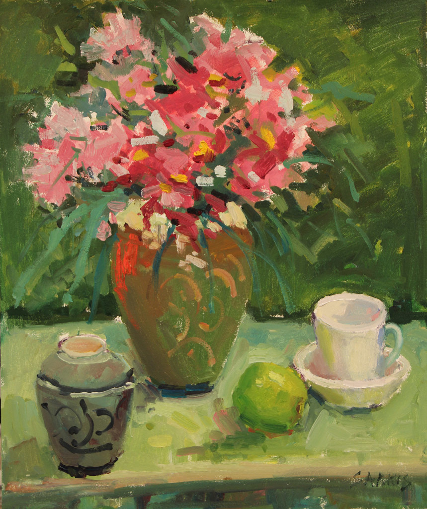Sarkis Antikajian, Still Life in Green