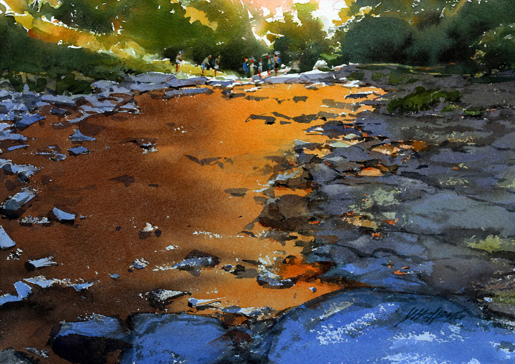 Yong Hong Zhong, Creek Reflection