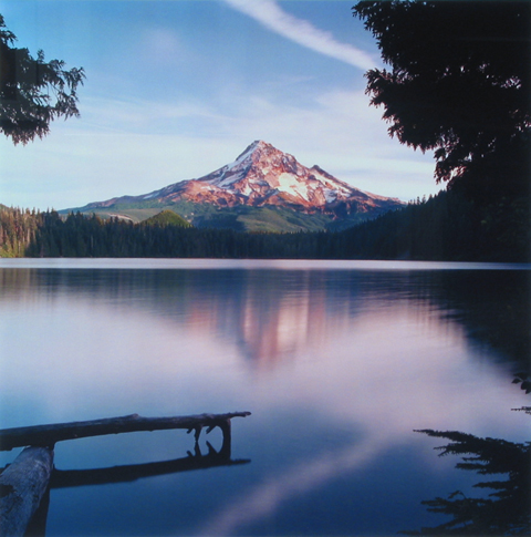 Bruce Clark, Mt. Hood from Lost Lake