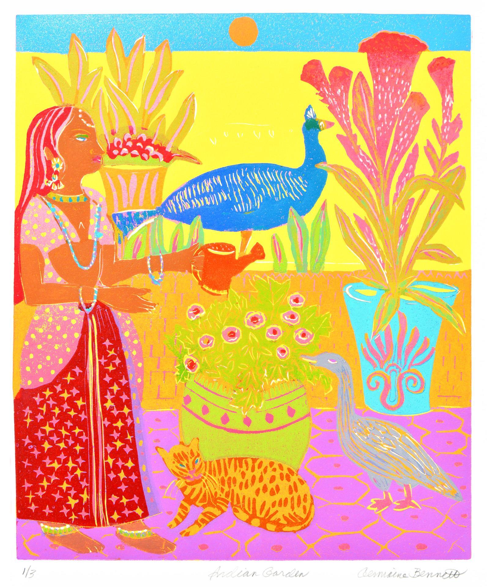 Germaine Bennett, Indian Garden