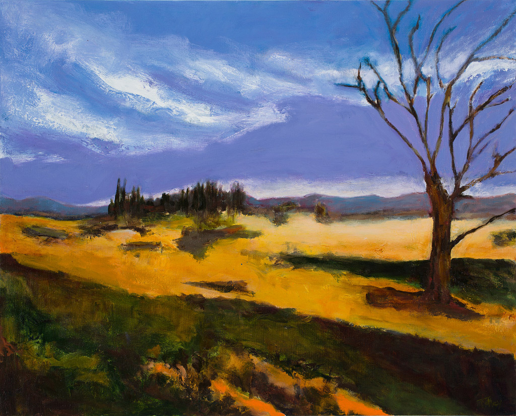 Joyce Tolley, Sauvie Island Evening