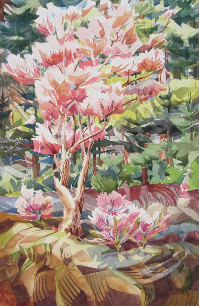 Leslie Cheney-Parr, Spring Arrives
