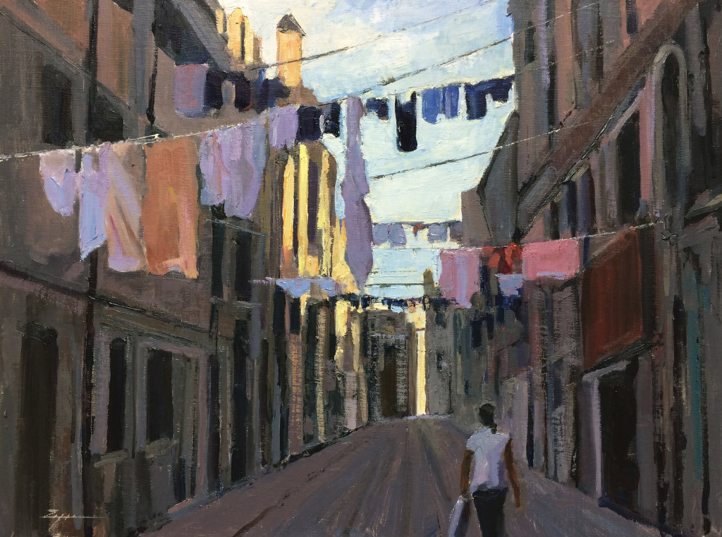 Paul Zegers, Laundry Day-Venice