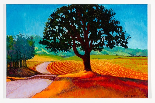 Patty Bentley - Oak Tree - Sauvie Island