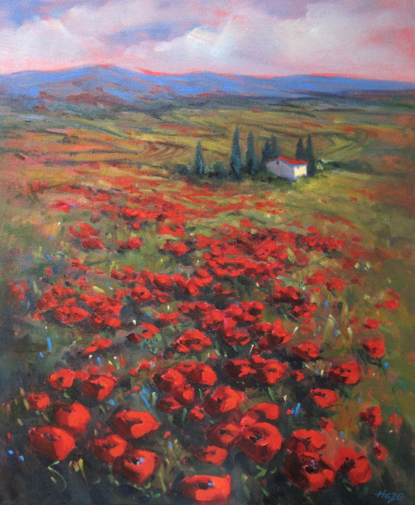 Hazel Schlesinger, Poppy Fields