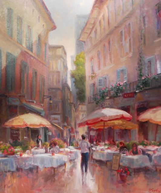 Sharon Engel, Side Walk Cafe