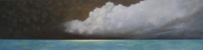 Agnes Forgo Kovacs, Silence I, acrylic