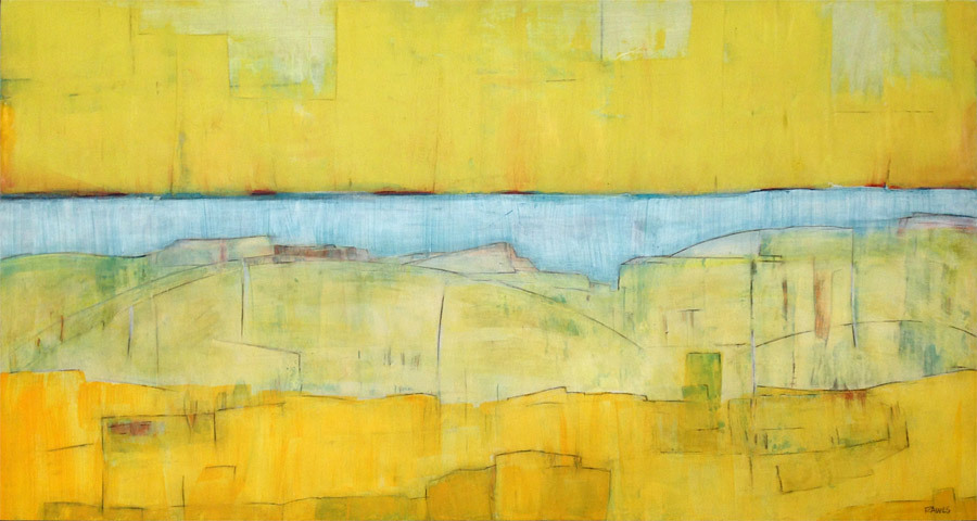 Barbara Rawls, Auric Ridge, mixed media