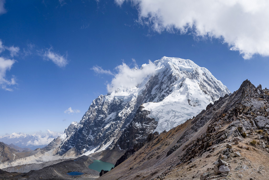 Doug Adair, Mt. Salkantay, color photo