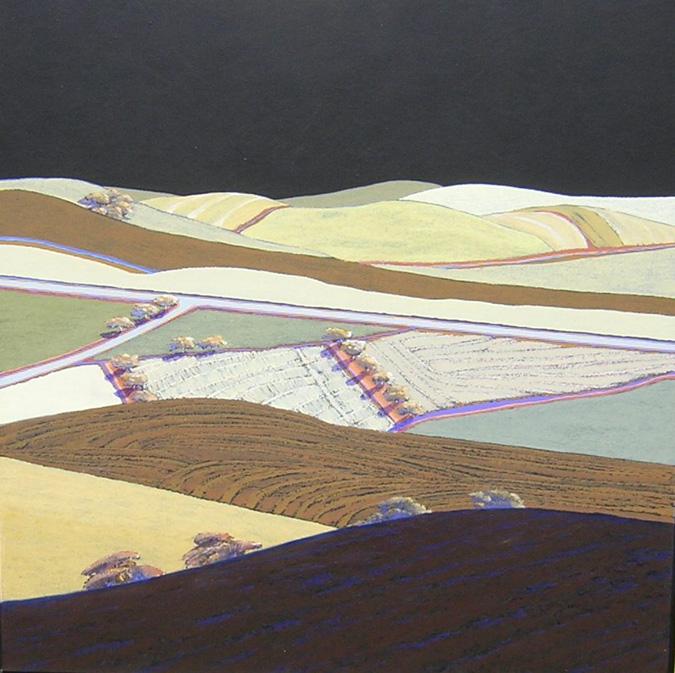 Jon Jay Cruson, Vista 2, acrylic