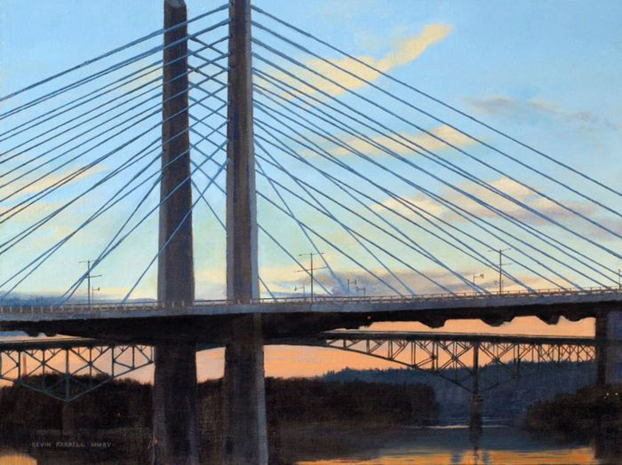Kevin Farrell, Tillikum Bridge, oil