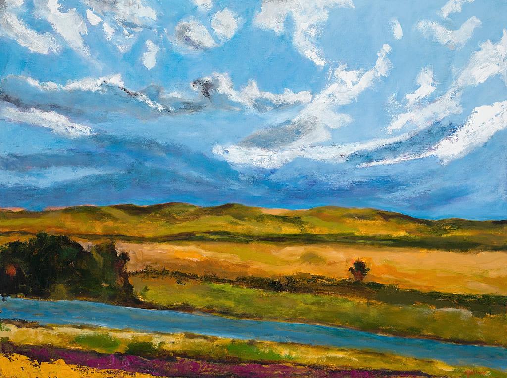 Joyce Tolley, Oacoma, oil