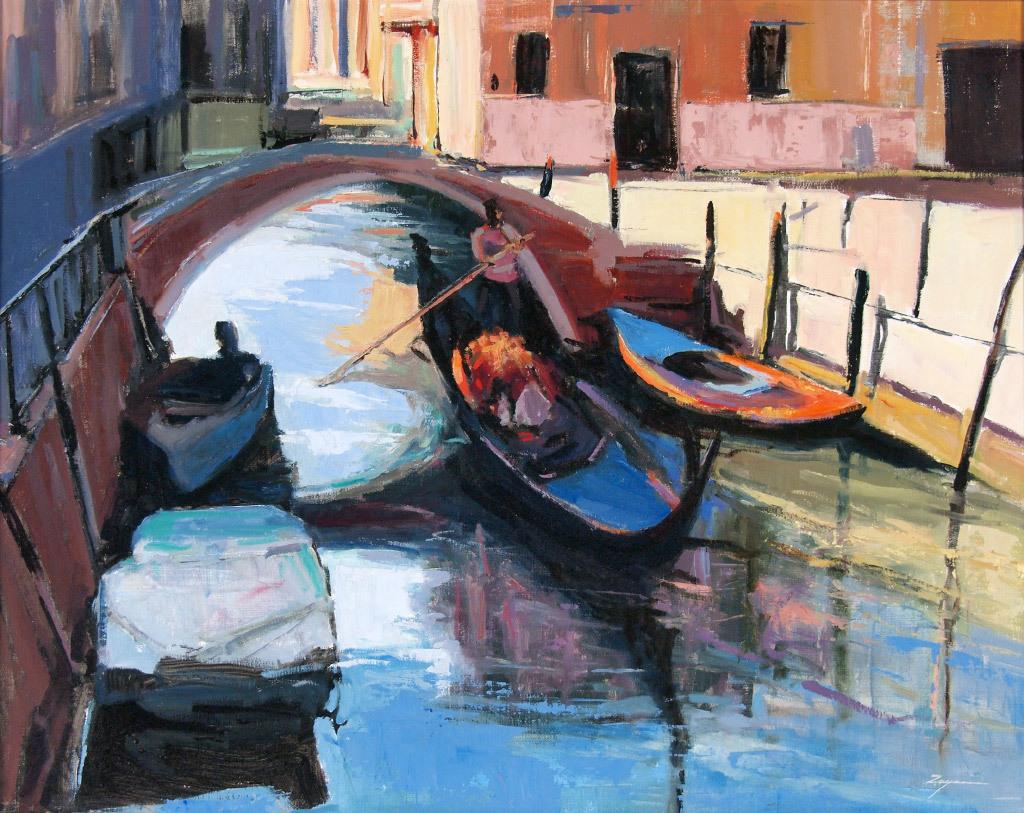 Paul Zegers, Venice Memories, oil