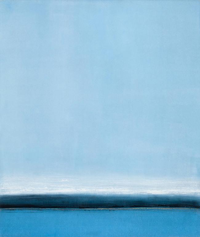 Annie Meyer, Northern Journey 2016, oil on paper