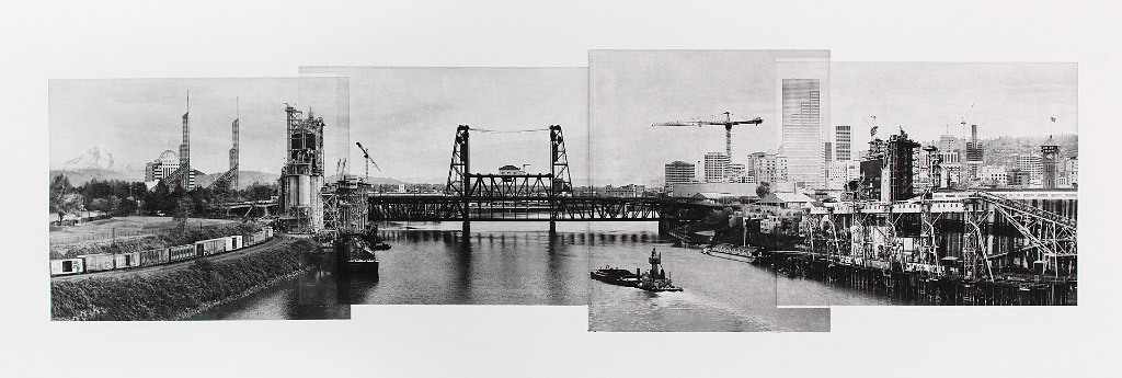 Beth Kerschen, A Bridge with a View, photo etching