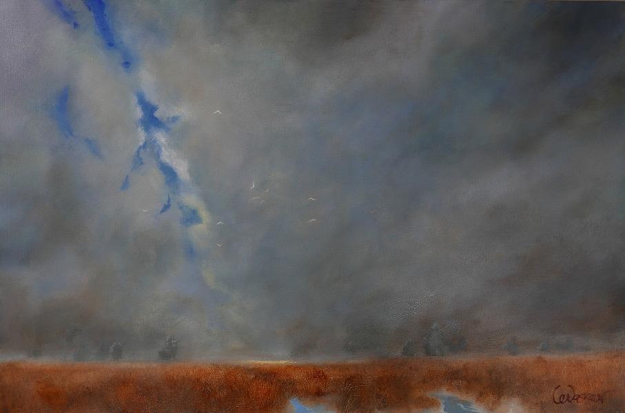 Jeanne Levasseur, Seasons Change, oil