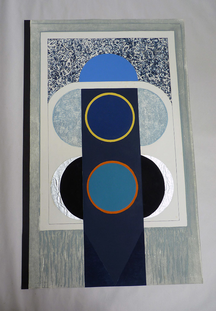 John Stahl, Lunar Totem, monoprint