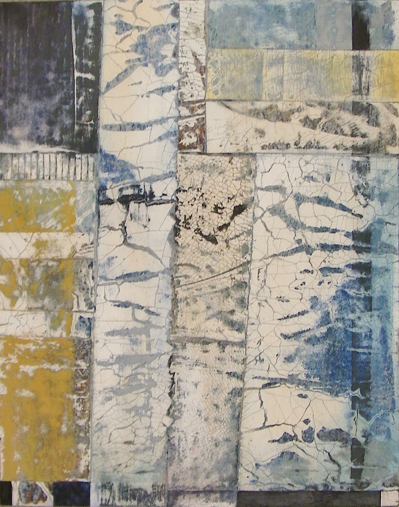 Kathy Haydon, A Small Renovation, mixed media