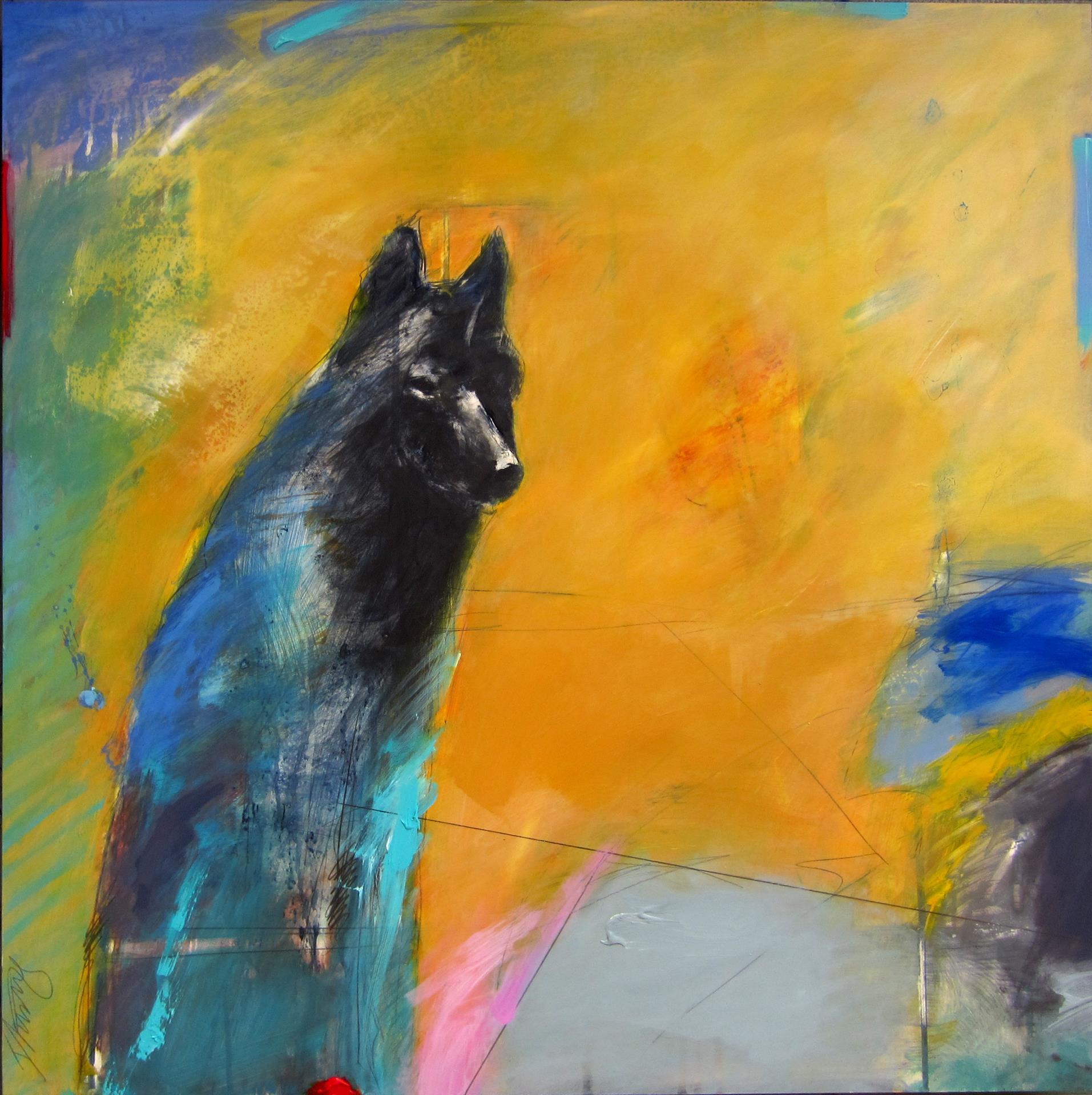 Ingrid Lustig, Gazing Wolf