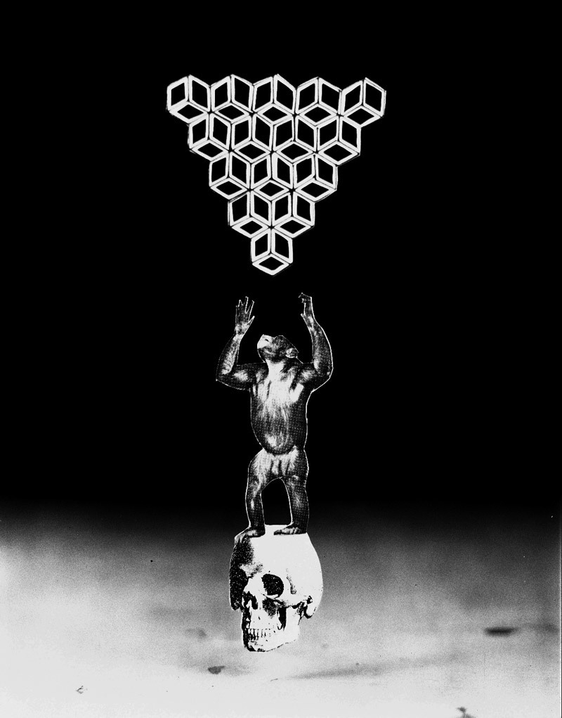 J Swofford, Intellect, silver gelatin print