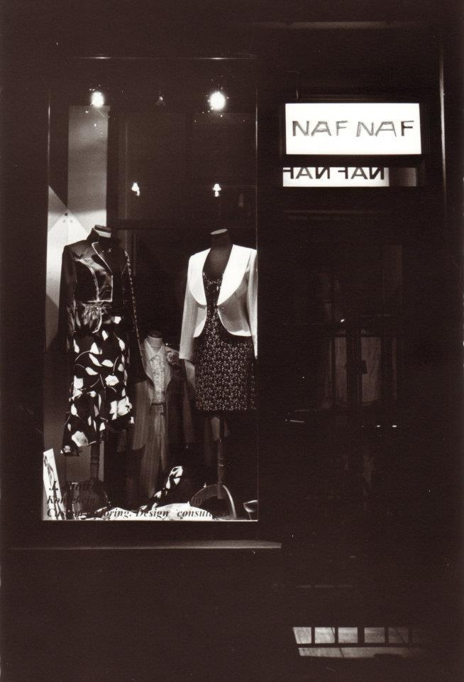 Jennifer Zika, Naf Naf, Dress Shop, Krakow