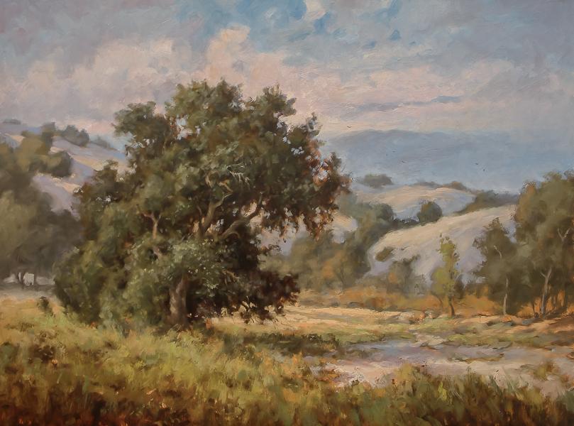 Yvonne Branchflower, Summer Calm, oil
