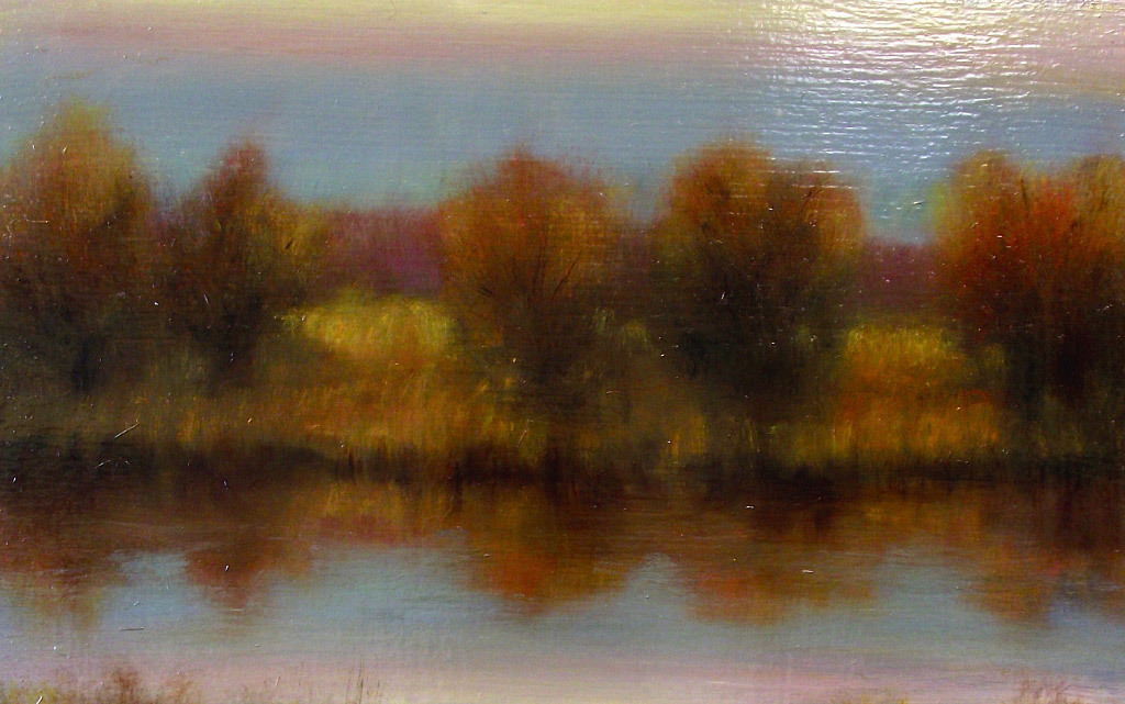 John Van Dreal, Mid-Valley Pond, oil