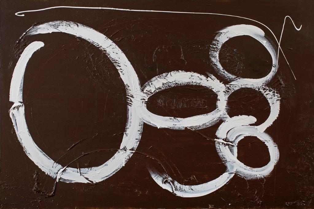 Selene Robinowitz, Chocolate Cremes, acrylic on canvas
