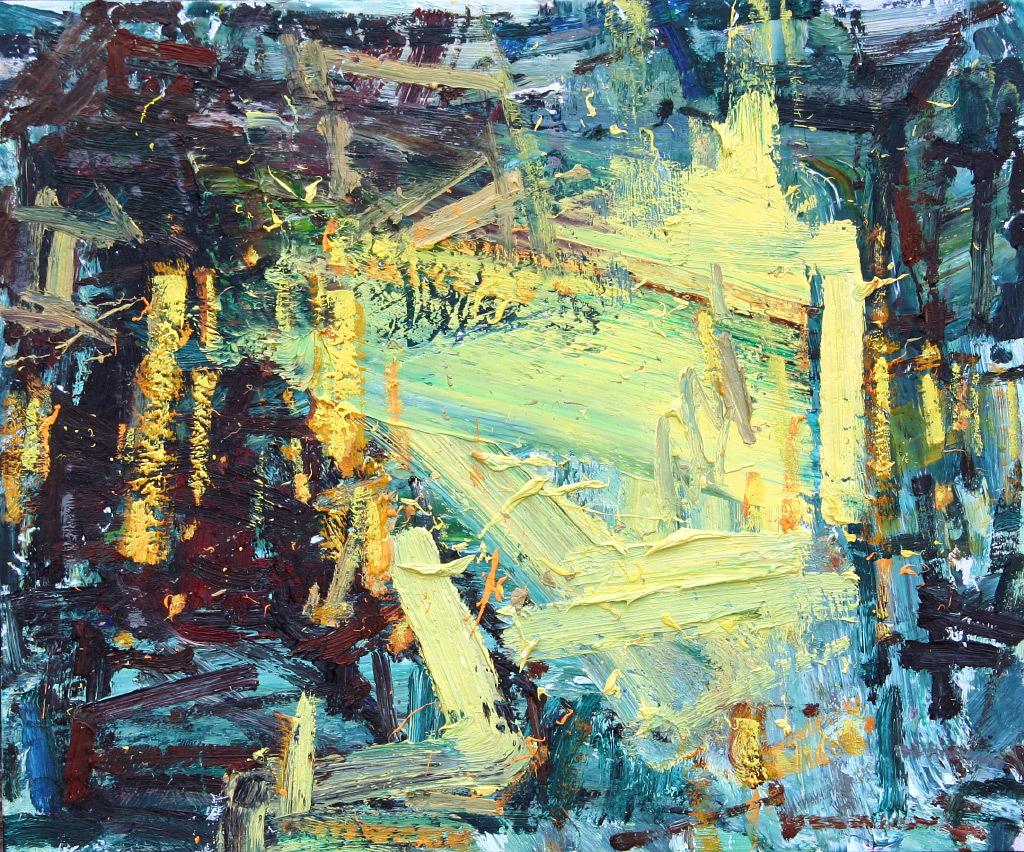 Anton Pavlenko, Convergence of Spring, oil