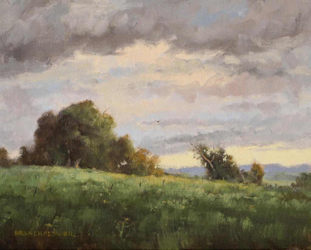 Yvonne Branchflower, Storm Front, oil