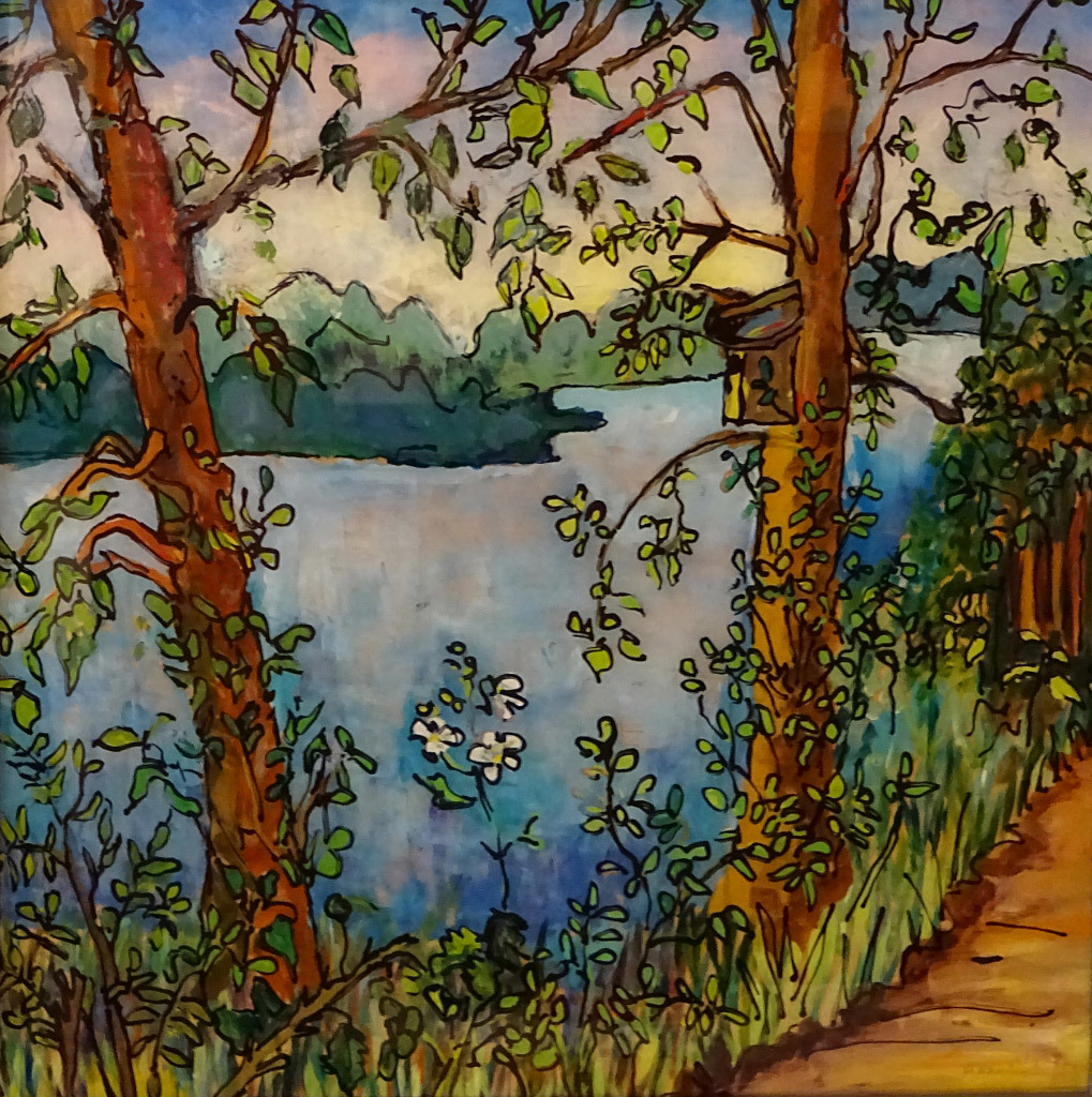 Ann Altman, Minto Brown Park, mixed media