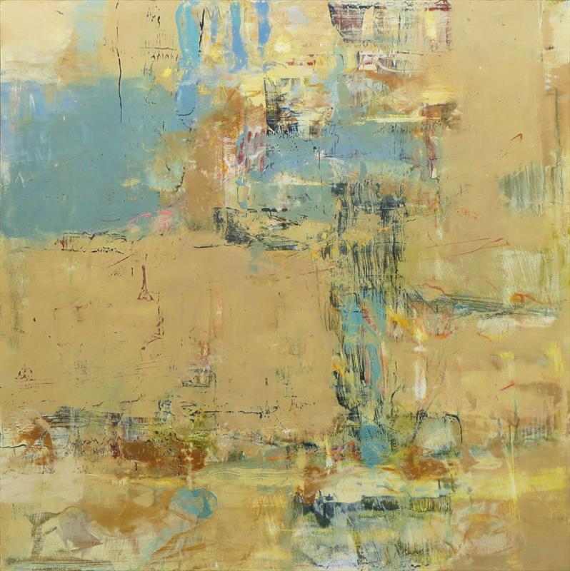 JoEllyn Loehr, Celilo II, oil