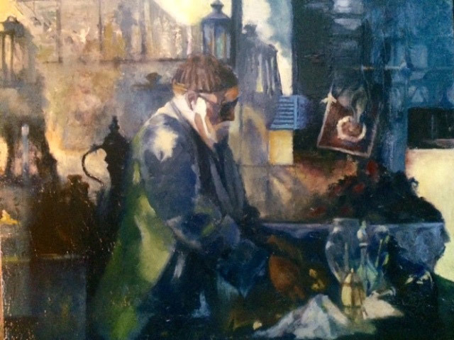 David McBride, Craftsman of Istanbul, oil
