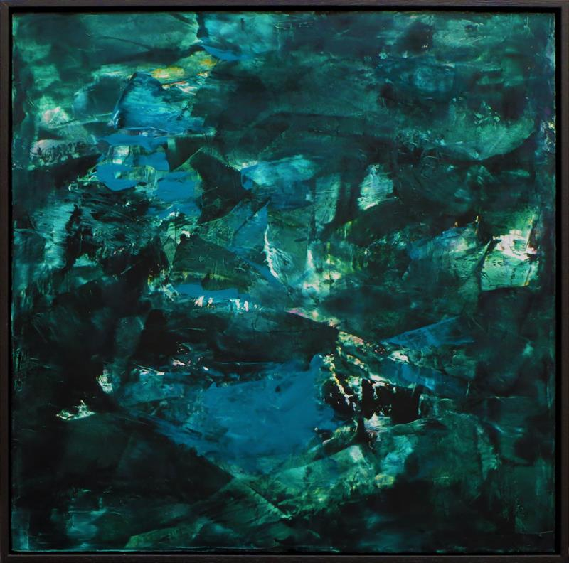 JoEllyn Loehr, Flyover, oil