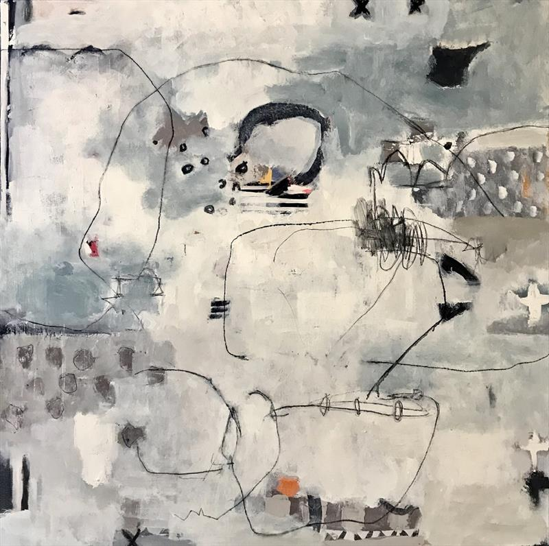 Shellie Garber, Ghost Cafe, mixed media