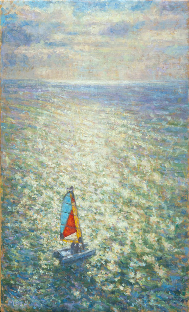 Peggie Moje, Sail Away, oil